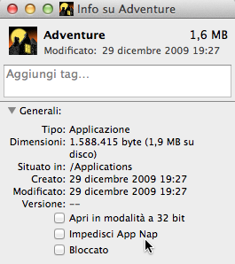 os x mavericks app nap