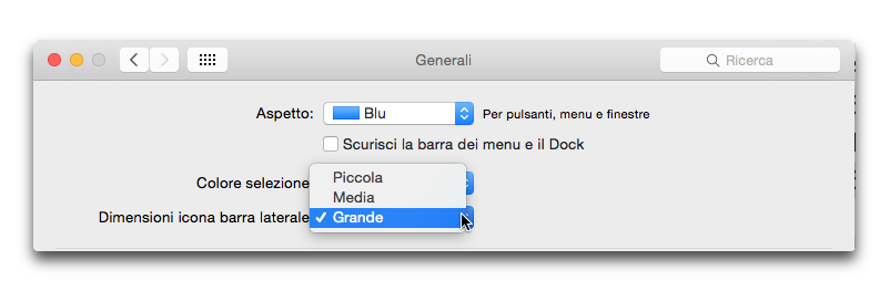 icone barra laterale mail os x