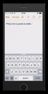 iOS 8 nascondere la tastiera predittiva