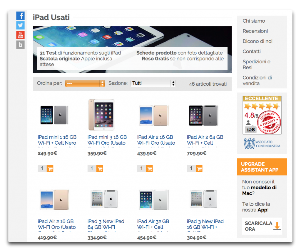 ipad usati buydifferent