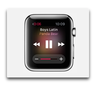 apple watch musica