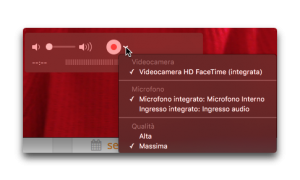 finestra quicktime player
