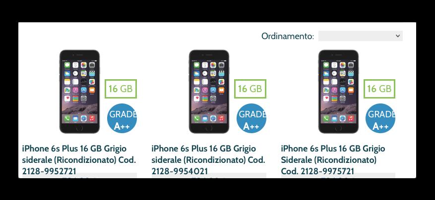 trendevice iphone ricondizionati