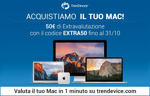 extravalutazione mac