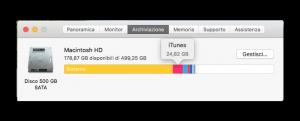 finestra informazioni su questo Mac