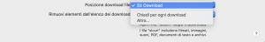 chiedi per ogni download