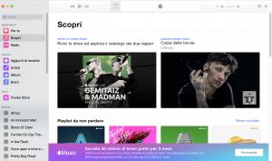 scopri apple music