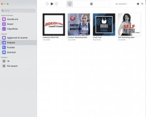 applicazione podcast
