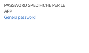 genera password