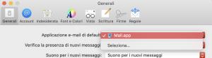 preferenze generali mail
