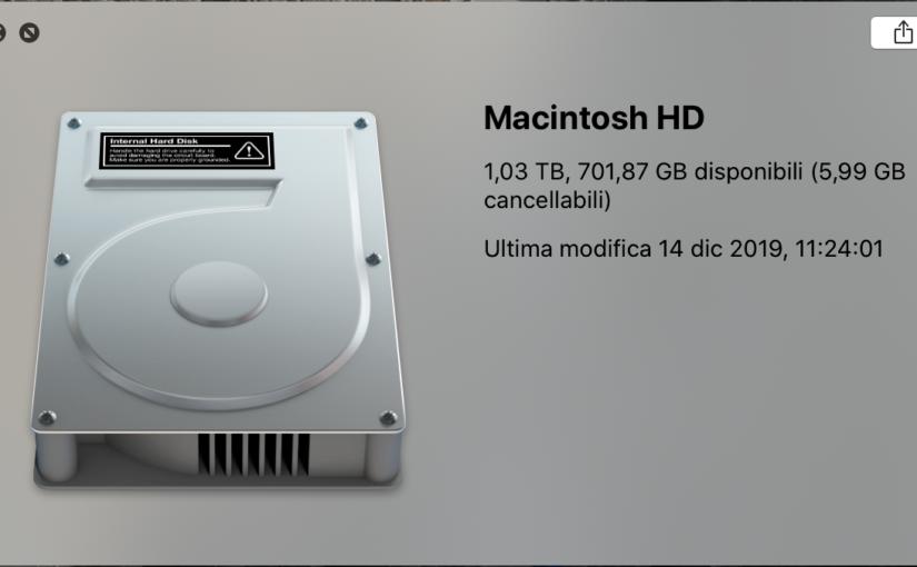 Quale tipo di disco ha il tuo Mac?